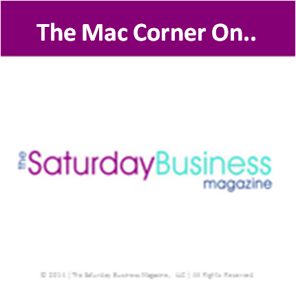 Mac Corner saturday business magazine